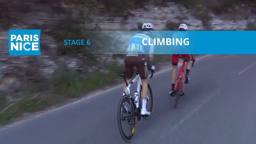 Paris-Nice 2020 - Étape 6 / Stage 6 - Climbing