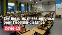 Coronavirus - Les mesures mises en place pour l'école à distance