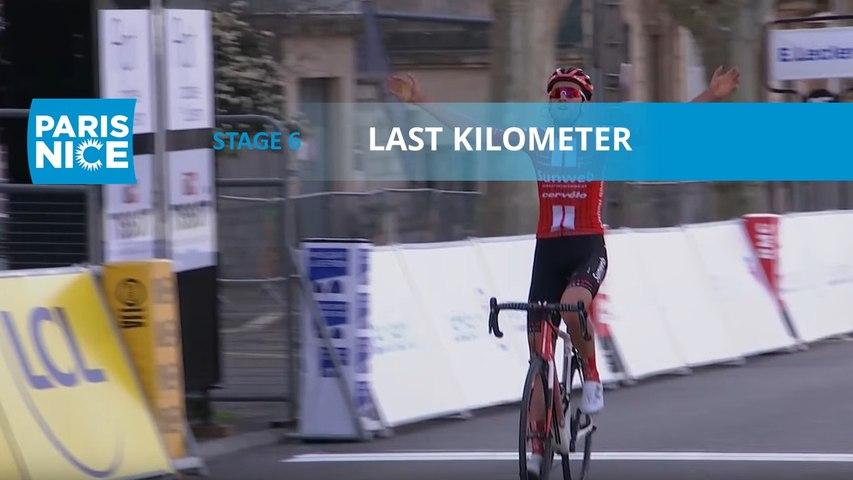 Paris-Nice 2020 - Étape 6 / Stage 6 - Last Kilometer/Dernier Kilomètre