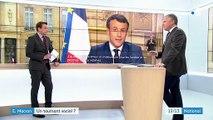 """Allocution d'Emmanuel Macron : """"un ton inédit"""", selon Jeff Wittenberg"""