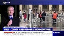 """Franck Riester: """"Les musées qui dépendent du ministère de la Culture vont fermer"""""""