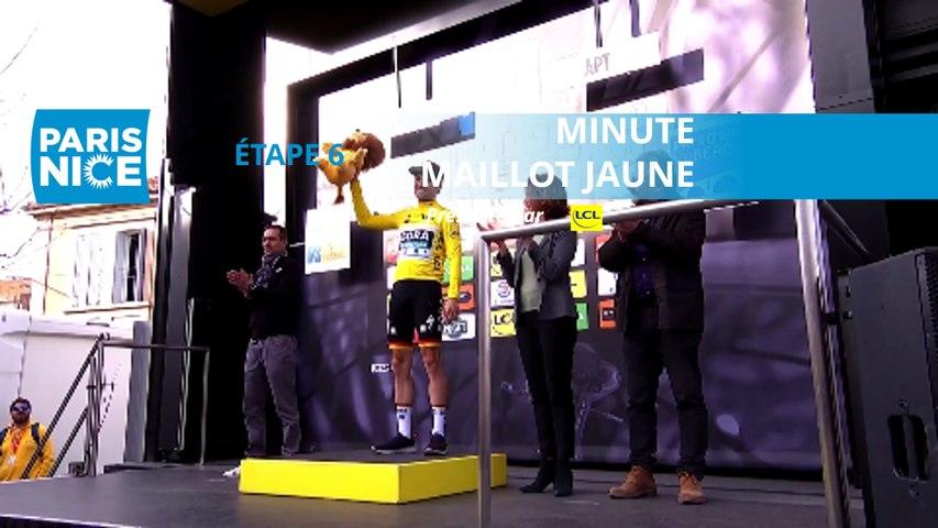 Paris-Nice 2020 - Étape 6 / Stage 6 - Minute Maillot Jaune LCL