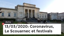 Coronavirus, Le Scouarnec et festivals … Cinq infos bretonnes du 13 mars