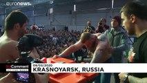No Comments der Woche: Schlagende Russen, Wuhan und olympisches Feuer