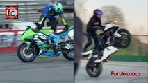 World No 1 Best Superbike Stunts Bike Stunt By Girl Boy Compilation Stunters Battle Drifts & Wheelies Moped Motorcycle . Here are most difficult and spectacular stunts. Coolest Motorcycle Moments. Best Bike Stunts, Drifts & Wheelies.Bike and Motorcycle