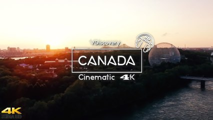 CANADA Drone View - Cinematic 4k