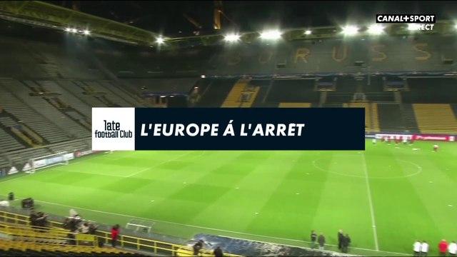 Coronavirus : L'Europe du football à l'arrêt