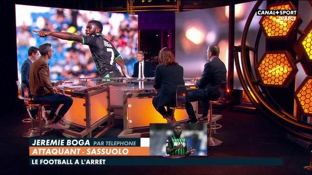 En direct avec Jérémie Boga, attaquant de Sassuolo en Italie