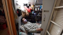 Hong Kong cage home resident finds space too small for self-quarantine amid coronavirus outbreak