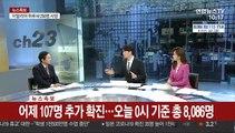 [뉴스특보] 어제 107명 추가 확진…오늘 0시 기준 총 8,086명