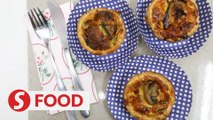 Retro Recipe: Mini quiche