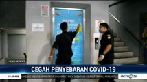Cegah Penyebaran Virus Corona, Pasar Badung Disemprot Disinfektan
