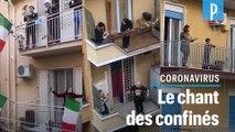 Coronavirus : le flashmob sonore des Italiens confinés