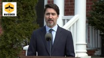 Justin Trudeau speech about Coronavirus
