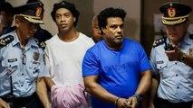 Ronaldinho a joué un match de football en prison au Paraguay