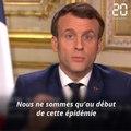 Coronavirus: Résumé des mesures annoncées par Emmanuel Macron