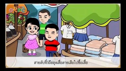 สื่อการเรียนการสอน รูปและเสียงของวรรณยุกต์ป.3ภาษาไทย