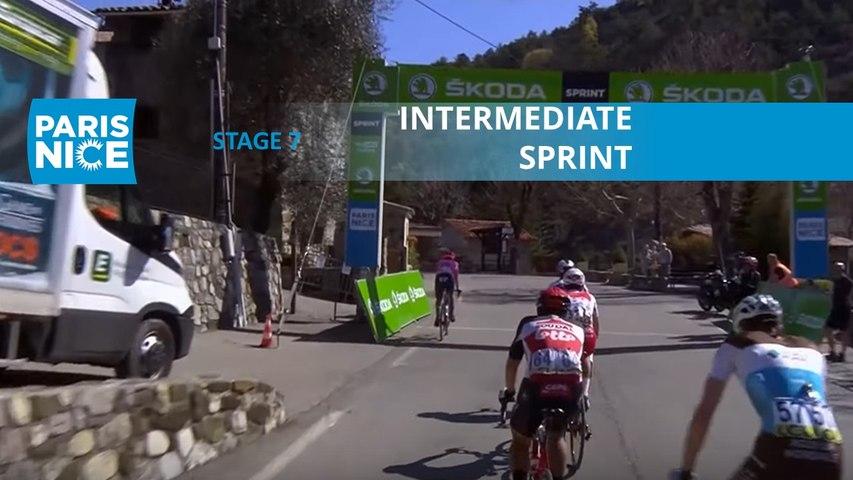 Paris-Nice 2020 - Étape 7 / Stage 7 - Intermediate Sprint