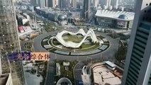 Aerial footage shows eerily empty city of Wuhan in lockdown