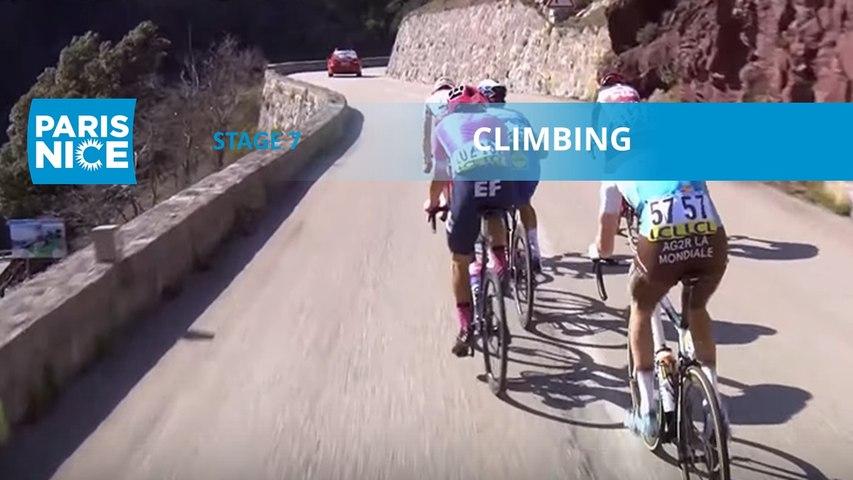 Paris-Nice 2020 - Étape 7 / Stage 7 - Climbing