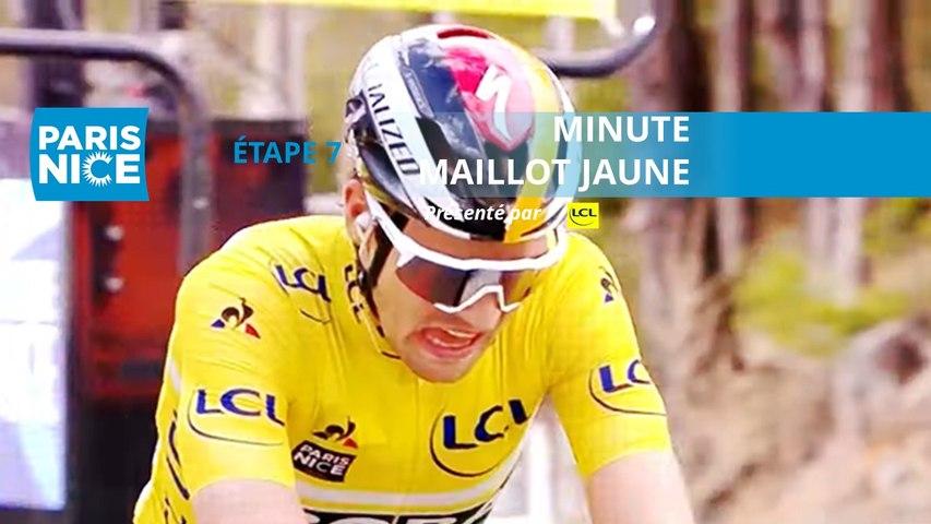 Paris-Nice 2020 - Étape 7 / Stage 7 - Minute Maillot Jaune LCL