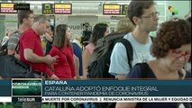 Cataluña adopta confinamiento como medida preventiva del coronavirus