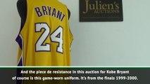 Kobe Bryant memorabilia to go under the hammer