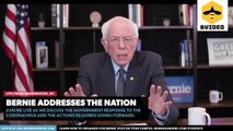 Senator Bernie Sanders addresses the nation about the government response to the coronavirus