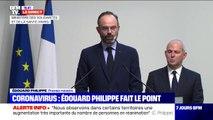 """Coronavirus: Edouard Philippe annonce la fermeture """"de tous les lieux recevant du public non indispensables à la vie du pays"""""""