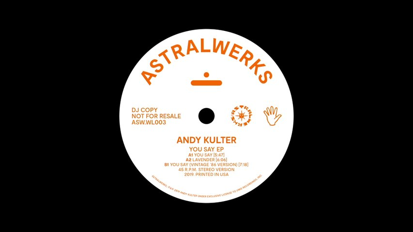 Andy Kulter - You Say