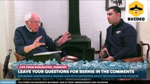 Senator Bernie Sanders previews debate strategy against in Fireside Chat