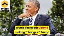 Donald Trump blamed all on Obama for covering his incompetence