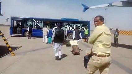 जयपुर से भोपाल पहुंचे कांग्रेसी विधायक