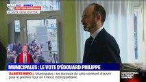 Municipales: Edouard Philippe vient de voter au Havre