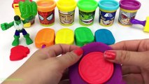 Marvel Avengers with Play Doh Ice Cream Popsicles Surprise Toys Mr Potato Head