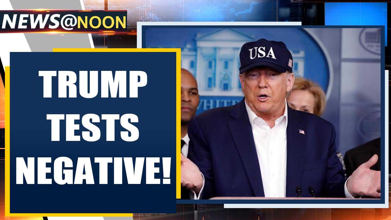 US President Donald Trump tests negative for Coronavirus   Oneindia News