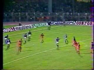 Coupe UEFA 83-84 Laval - Austria Vienne (but de Sene)