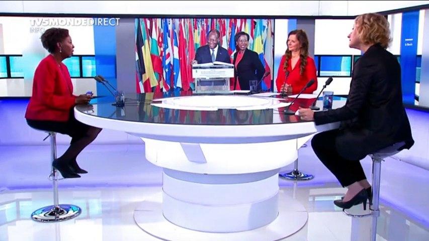 """Louise Mushikiwabo, SG OIF: """"j'espère que la Guinée ne va pas se fâcher avec tout le monde"""""""