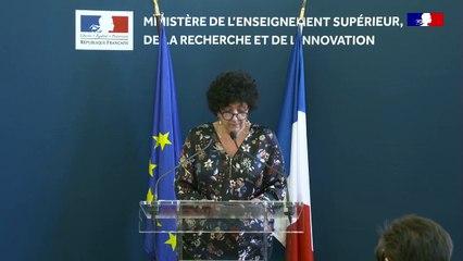 COVID 19 Conférence de presse de Frédérique Vidal du 13/03/2020