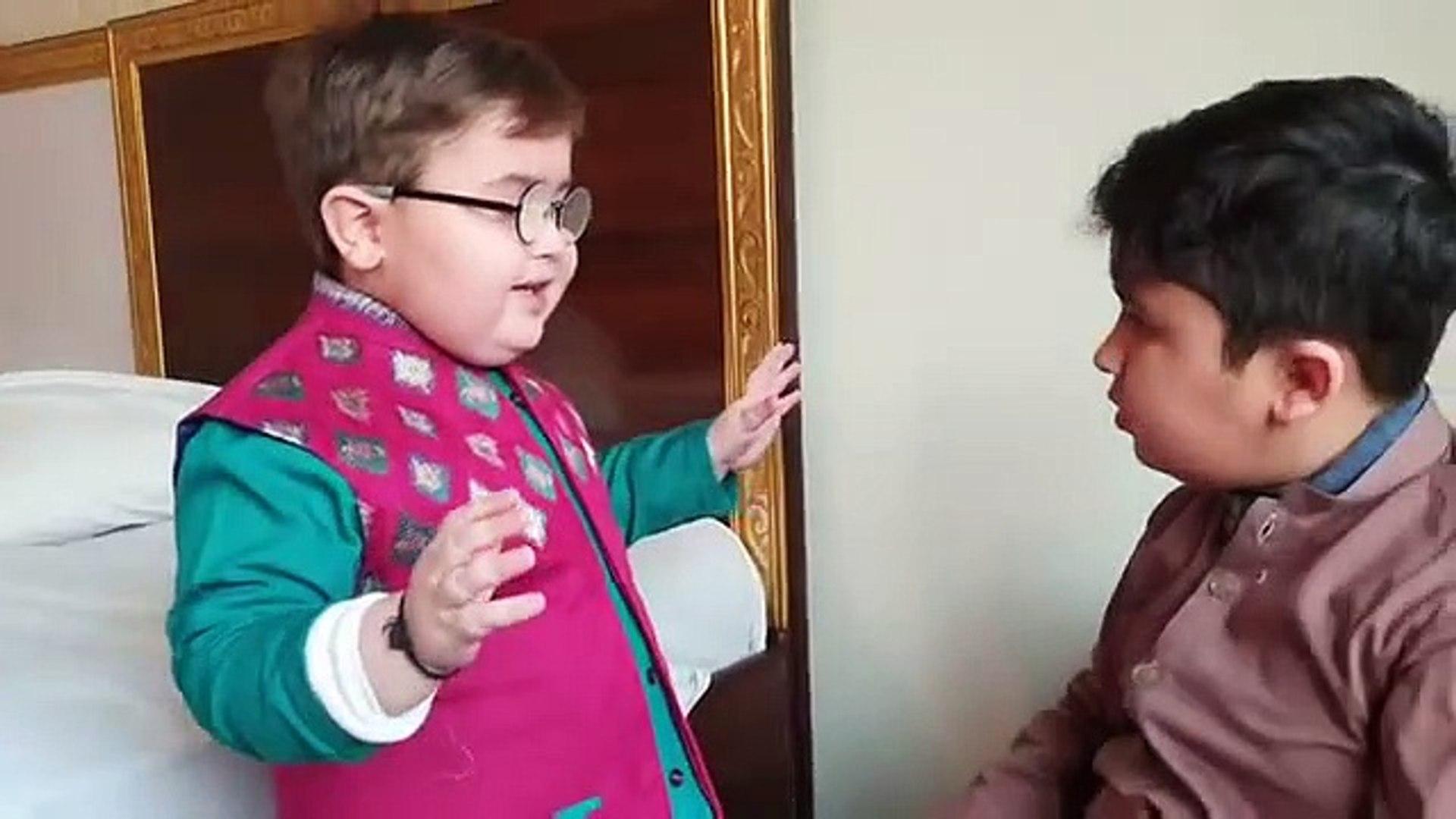 Cute Ahmad shah About Precautions of Corona-Virus