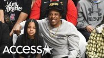 Jay Z and Blue Ivy Have Sweet Daddy-Daughter Date Night at Lakers Game