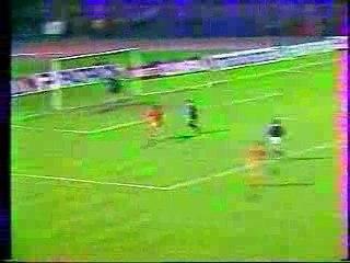 Coupe UEFA 83-84 Laval - Austria Vienne 2-0 (but de Miton)