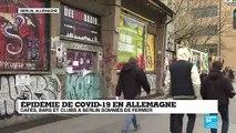 Coronavirus en Allemagne : Contrôle aux frontières et confinement