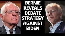 Bernie Sanders previews debate strategy against Joe Biden in 'fireside chat'