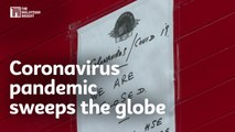 Coronavirus pandemic sweeps the globe