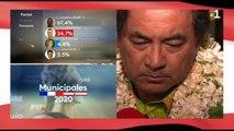 Municipales 2020 - Simplicio Lissant est élu au premier tour dans la commune de Punaauia
