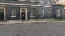 Matt Hancock arrives at Downing Street