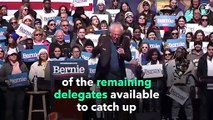 Is It Too Late for Bernie Sanders to Catch Up to Joe Biden's Delegate Lead