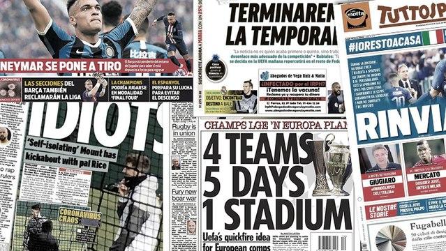 Le Barça lance les grandes manoeuvres pour Lautaro Martinez, le plan de l'UEFA pour les coupes d'Europe se dessine