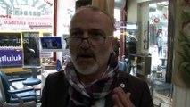 İstanbul'da berberlerde korona virüse karşı dezenfekte çalışması
